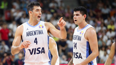 Luis Scola, left, has rubbished talk that Argentina's win over Serbia was a miracle.