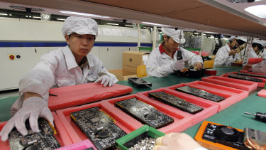 Foxconn is moving more manufacturing to south-east Asia and other regions to avoid escalating tariffs on Chinese-made goods headed to US markets.
