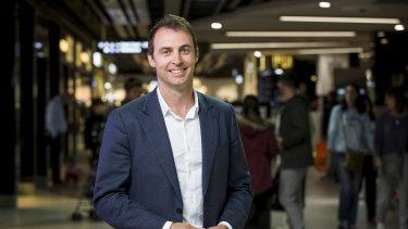 DFO general manager Justin Blumfield.