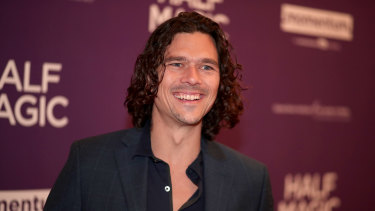 Actor and writer Luke Arnold would be worried about playing his lead character on screen.