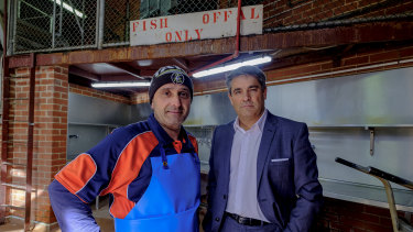 Fishmonger Costa Lambropoulos believes there needs to be more than 1000 car parks at the Queen Victoria Market.