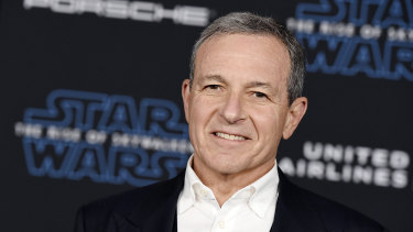 Former Disney chief and now chairman Bob Iger gave up his salary from the end of March through the end of the year. The $US2.25 million in foregone pay is equivalent to 3.3 per cent of Iger's total realised compensation in 2019,