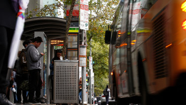 Transdev operates 46 public bus services throughout Melbourne.