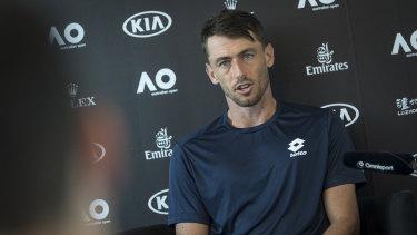 John Millman is ready to make a run at the Australian Open.