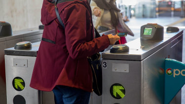Passengers are continuing to tap off and allowing their Opal cards to go into negative balances.