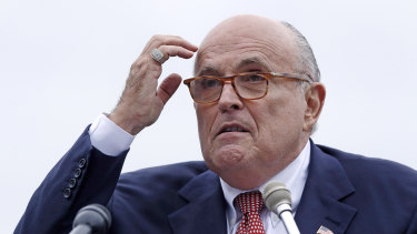 Donald Trump's lawyer Rudy Giuliani.