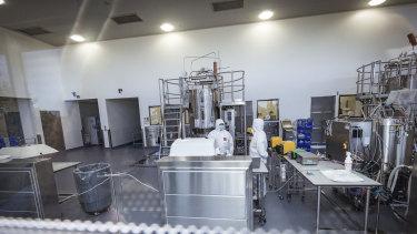 CSL's Broadmeadows lab.