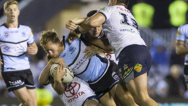 Premiership-winning Cronulla forward Matt Prior is on Parramatta's radar.