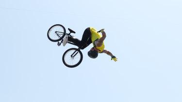 Australian Logan Martin blitzed the men's freestyle BMX at the Tokyo Olympics.