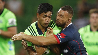 Don't blink: Quade Cooper (right) is playing some of his best football in recent memory.