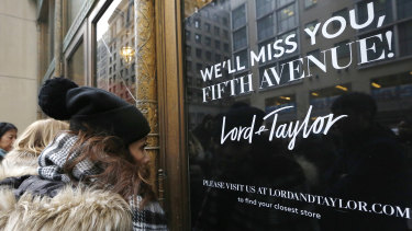 Lord and Taylor is the US's oldest department store chain.