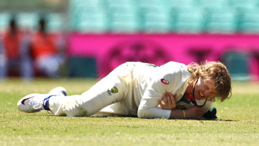 Will Pucovski is in doubt for the fourth Test due to a shoulder injury.