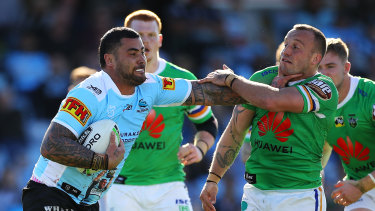 Leichhardt love ... Andrew Fifita knows the Wests Tigers faithful will give it to him on Sunday afternoon.