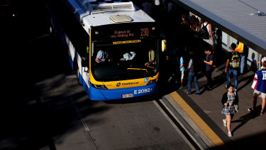 Occupancy limits will not be enforced on Queensland public transport as it has in NSW.