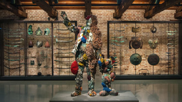 A sculpture from Hirst's successful Venice show, Treasures From the Wreck of the Unbelievable, in 2017.