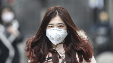 Health authorities are asking pharmacists to limit sales of P2 masks to ensure they have enough in reserve.