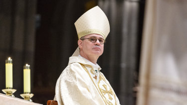 Melbourne Archbishop Peter Comensoli.