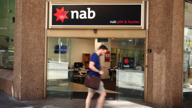 NAB will temporarily close more than one in 10 of its Australian branches.
