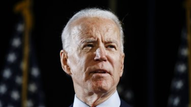 Joe Biden is running for president on a platform of law, order and healing.