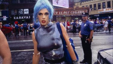 Nan Goldin: Misty in Sheridan Square, NYC, 1991