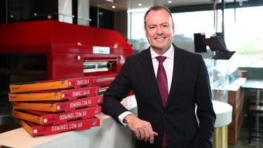 Domino's CEO Don Meij.