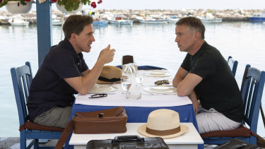 Rob Brydon and Steve Coogan reprise the old pals act in The Trip To Greece.