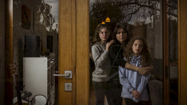Liz Poole's two children have asthma, which is made worse by smoke from nearby wood fires.