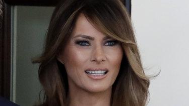 First lady Melania Trump.