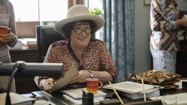 Margo Martindale as Bella Abzug in Mrs America.