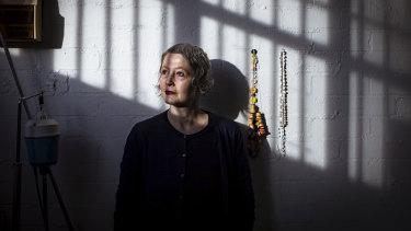 Artist Manon van Kouswijk.