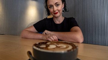 Jackie Middleton, the co-founder of the EARL cafe group, says the cappuccino is still popular.