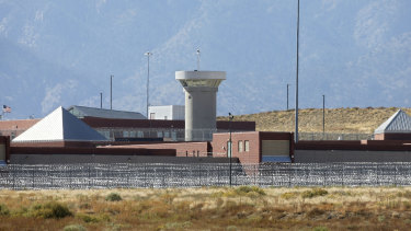A federal prison complex which houses a Supermax facility outside Florence, in Colorado.