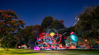 Botanica: Contemporary Art Outside has illuminated Brisbane's City Botanic Gardens.