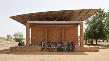 Francis Kere, Architecture Shapes Life, presented by NGV with Architecture Foundation Australia and the Futuna Lecture Series, Gando Primary School by Kéré Architecture,