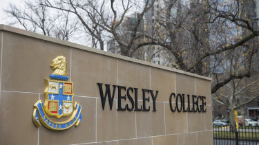 Wesley College is one of a number of non-government schools accessing the JobKeeper subsidy.