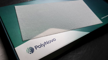 Biotech PolyNovo's shares increased the most among the ASX200 on Tuesday, up nearly 16 per cent after a strong sales report.