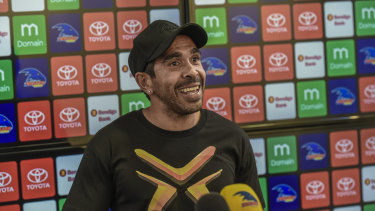 AFLX Deadly captain Eddie Betts has had to contend with three withdrawals from his team.