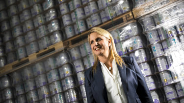 Bubs Australia chief executive Kristy Carr said the company is exporting virtually all of its products by sea freight because of the mass grounding of planes.
