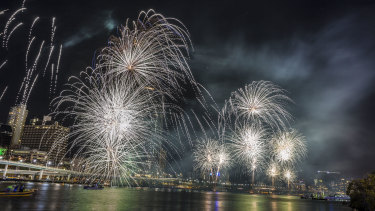 Brisbane's popular fireworks display will not go ahead this New Year's Eve.