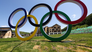 China readying itself for world: the athletes' village for the Beijing 2022 Winter Olympic Games in Chongli.