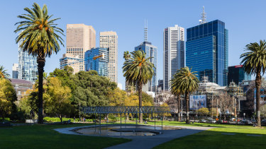 Melbourne today.