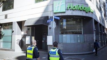 "Alfred Health runs the Flinders Lane ""hot"" hotel."