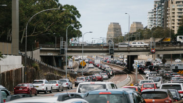 Smokestacks have proved the most controversial aspect of the $14 billion Western Harbour Tunnel project.