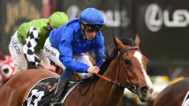 Flying: Pohutukawa is in fine form for the Godolphin stable and looks to continue it at Kembla on Friday.