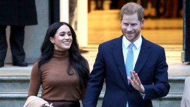 The Duke and Duchess of Sussex are stepping away from front-line royal duties.