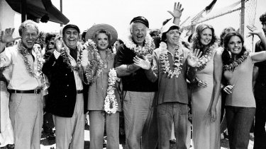 The cast of Gilligan's Island.