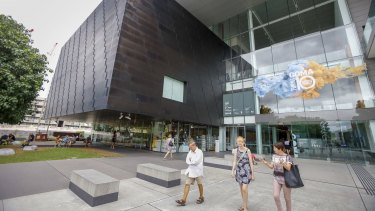 Brisbane's riverside Queensland Gallery of Modern Art has been suggested for the bus route.