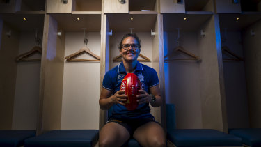 Inaugural North Melbourne Tasmania  Kangaroos AFLW captain Emma Kearney is optimistic about her team's chances.