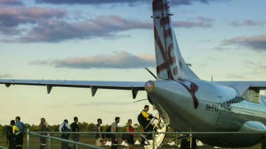 WA companies will stop flying in workers from NSW from Monday.