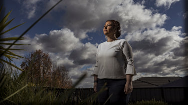 Julia West, 46, from Pakenham sometimes spends up to $100 a week on asthma medication.